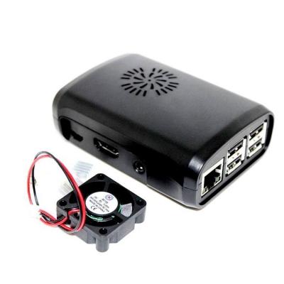 HK0001 - Универсальный корпус для Raspberry Pi с вентилятором и 3-мя радиаторами