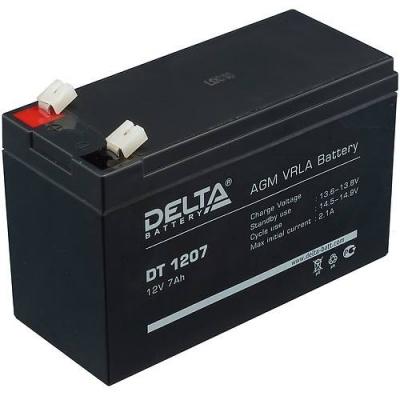 DK0199 - Аккумуляторная батарея DELTA DT 1207 (свинцовая, 12В, 7Ач)