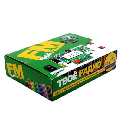 EK-002P - Радиоконструктор - набор для пайки Твоё радио №2
