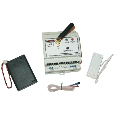 MP0208 - GSМ выключатель с контролем температуры