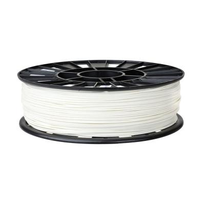 PP001BF - PLA катушка 1.75мм, 1кг Пластик для 3D печати. Белый