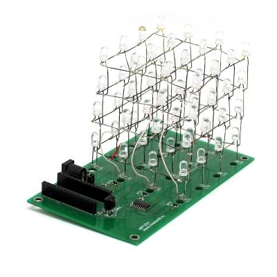 LED CUBE 4x4x4 - Светодиодный куб 4х4х4 для Arduino Nano