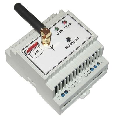 MP0212 - GSМ выключатель на DIN рейку