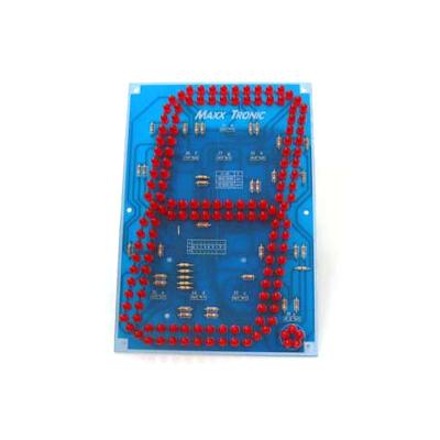 """MP1006F - Светодиодный семи-сегментный индикатор 7""""(180мм)"""