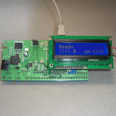 MP1515SE - Встраиваемый Ардуино-совместимый контроллер в комплекте с LCD1602 и энкодером