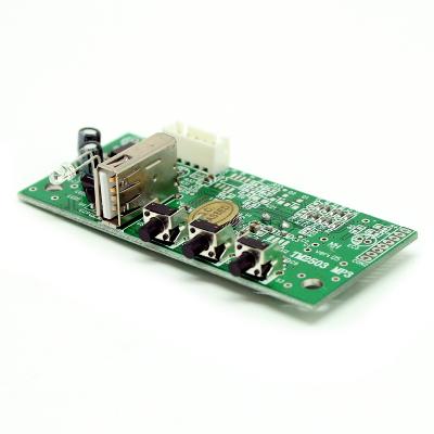MP2503RL - Встраиваемый USB-MP3 / WMA плеер с пультом ДУ и ЖК дисплеем