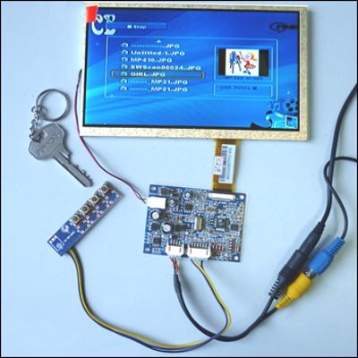 MP2907 - Цветной 7' TFT-LCD модуль разрешением 480 x 240 с видеоконтроллером