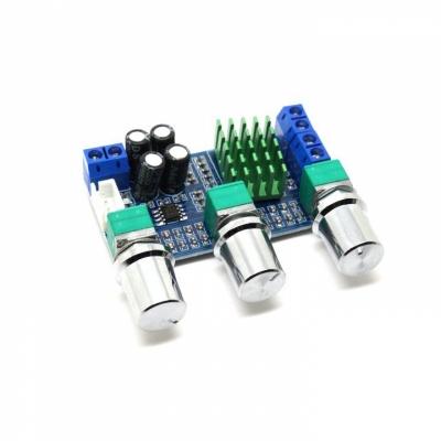 MP3116mini - Усилитель НЧ D-класс 2х50Вт с регулировкой тембра (TPA3116)
