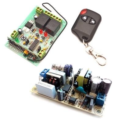 MP325M + PW1245 - Беспроводное управление диапазона 433 МГц + источник питания
