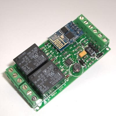 MP3500 - Wi-Fi реле, 2 канала (на базе ESP8266)