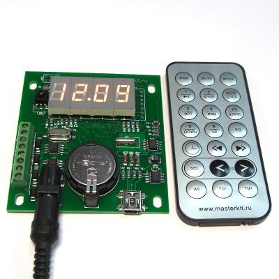 MP350 - Универсальные часы реального времени (RTC) c управлением нагрузками по 4 каналам