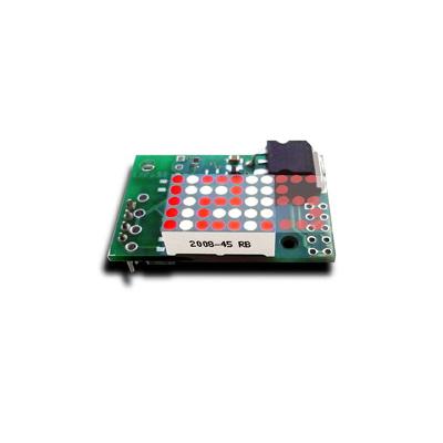MP503 - Вольтметр встраиваемый миниатюрный с анимированным светодиодным индикатором