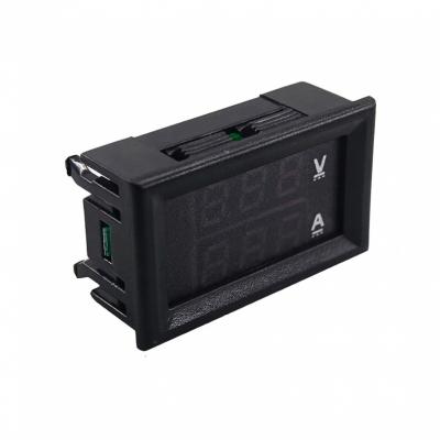 MP608 - Встраиваемый цифровой вольтметр + амперметр 30В / 10А