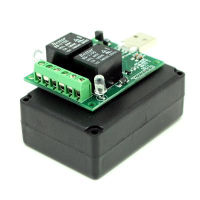 MP707R - Цифровой USB-термометр/термостат (два реле до 2 кВт 10А)