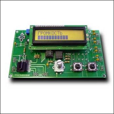 MP800D - Блок управления УМЗЧ с цифровым потенциометром MP800 ( Радио №8 2010 )