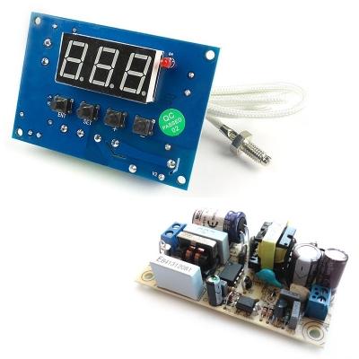 MP8030hot + PW1245 - Встраиваемое термореле + AC/DC Импульсный источник питания