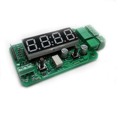 MP8037ADC - Цифровой модуль защиты и управления с функцией измерения (реле напряжения)