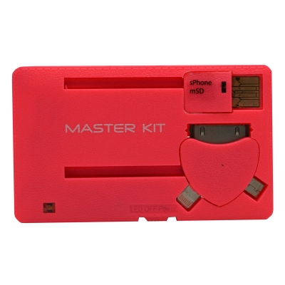 MT1099 Rose - Портативное зарядное устройство Power-флешка 8 Гб