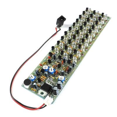 NF192LED - Набор радиолюбителя для сборки ЦМУ (цветомузыкальной установки)