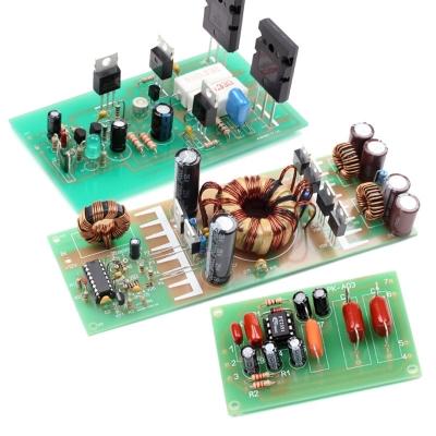 NM0101 + NM0103 + NM0605 - Набор для сборки оконечного усилителя НЧ 100Вт + ФНЧ + автомобильного преобразователя напряжения