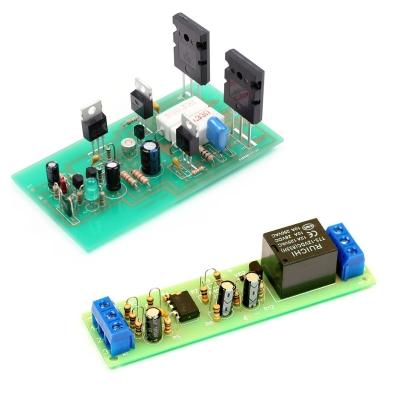 NM0101 + NM0110 - Набор для сборки оконечного усилителя НЧ 100 Вт + Набор для сборки автоматического выключателя электроприборов