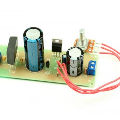 NM0607 - Стабилизированный блок питания 2,5...27В, 10А - набор для пайки