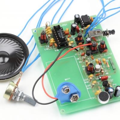 NM0701 - Набор для сборки портативной радиостанции 27МГц  FM