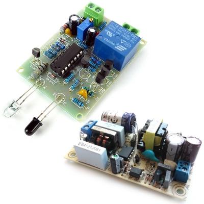 NM082 + PW1245 - Набор радиолюбителя для сборки ИК сенсора + AC/DC Импульсный источник питания 12В 0.5А