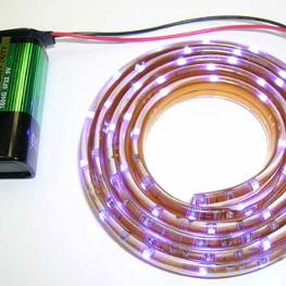 NM1112BLUE - Светодиодная лента (1 метр, 60 синих светодиодов)