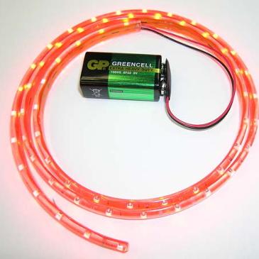 NM1112RED - Светодиодная лента (1 метр, 60 красных светодиодов)