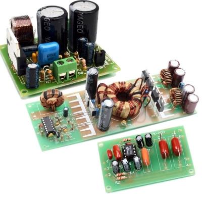 NM2042 + NM0103 + NM0605 - Набор для сборки усилителя НЧ 140Вт + ФНЧ + автомобильного преобразователя напряжения