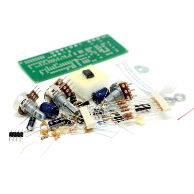 NM2117 - Активный блок обработки сигнала (кроссовер) для сабвуферного канала (LM324, LM358)