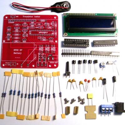 NM8014 - Тестер электронных компонентов, включая ESR конденсаторов - набор для пайки