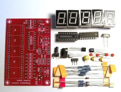 NM8016 - DIY-лаборатория: Частотомер с функцией тестера кварцевых резонаторов