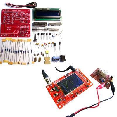 NM8020 + NM8014 - Компактный цифровой осциллограф + Тестер электронных компонентов, включая ESR конденсаторов