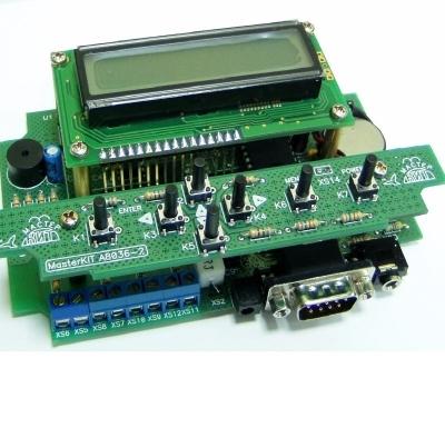 NM8036 - Обучаемый модуль управления теплом и временем (микроконтроллер) - набор для пайки