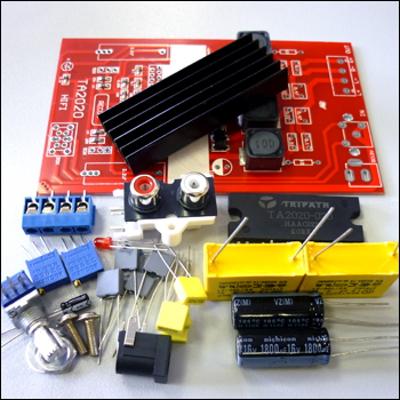 NT1292 - Набор для сборки цифрового усилителя T-класса (Tripath), 2 x 25 Вт