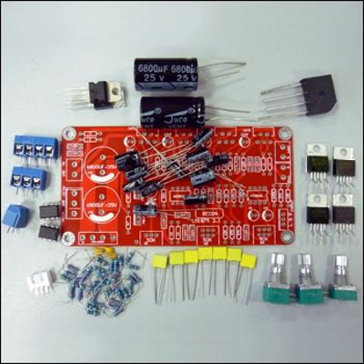 NT1325 - Набор для сборки усилителя НЧ (100 Вт). 2 х 25 Вт + 1 х 50 Вт (сабвуфер) + темброблок