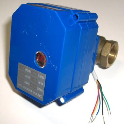 NT8043 AC220V - Моторизованный шаровой кран, со встроенным источником питания