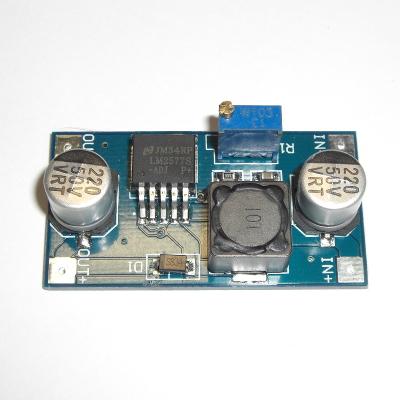 PW3-35-3 - Регулируемый повышающий преобразователь напряжения Вход 3-34В, выход 4-35В. (LM2577)