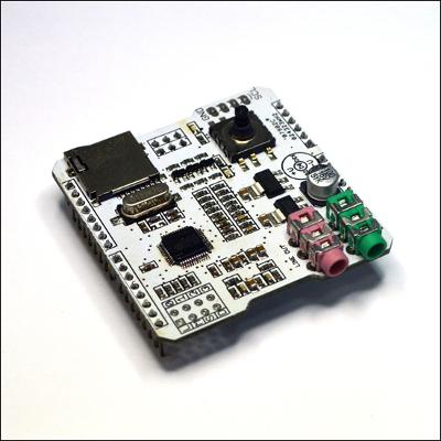 SH MP3 - MP3 плеер с функцией записи. Расширение для Arduino. IC VS1053B