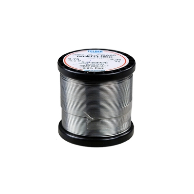 DM0002 - Припой с активным флюсом не требующий смывания Sn60Pb38Cu2 RA05:2.5% 1мм 250г