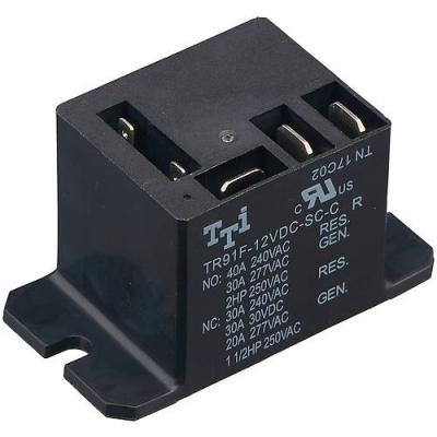 DK0119 - Реле электромеханическое TR91F-12VDC-SC-C, 240В, 30А