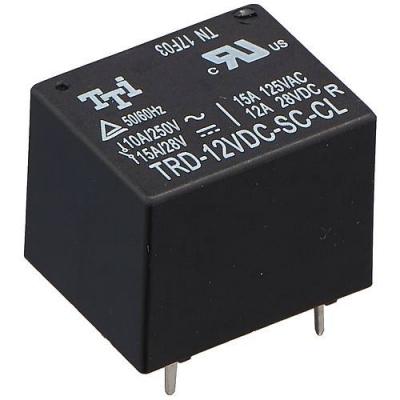 DK0117 - Реле электромагнитное TRD-12VDC-SC-CL-R, 250В, 15А