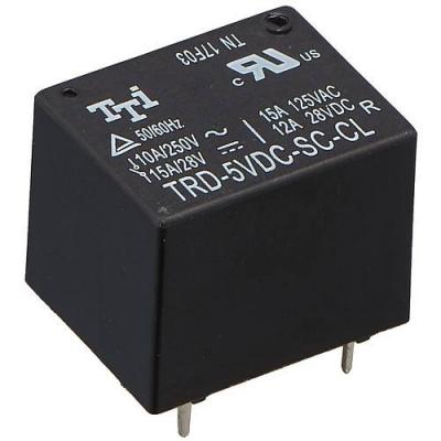 DK0116 - Реле электромеханическое TRD-5VDC-SC-CL-R, 250В, 15А