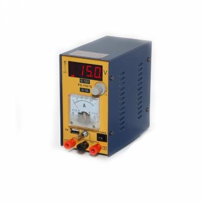 W.E.P 1501S USB - Лабораторный источник питания 15В, 1А (одноканальный)