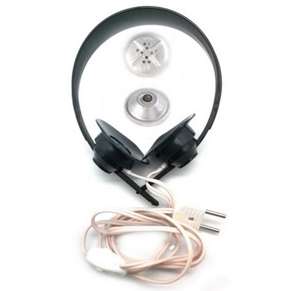 Наушники высокоомные ТОН-2М с угольными микрофонами