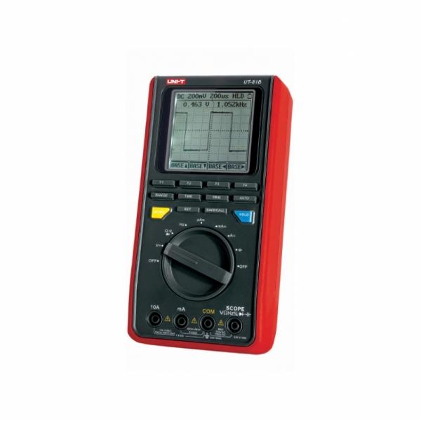 Цифровой портативный осциллограф-мультиметр до 8 МГц