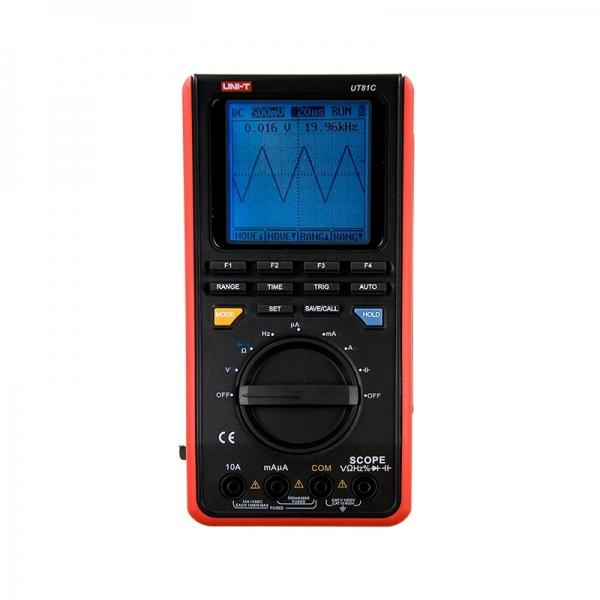 Цифровой портативный осциллограф-мультиметр до 16 МГц