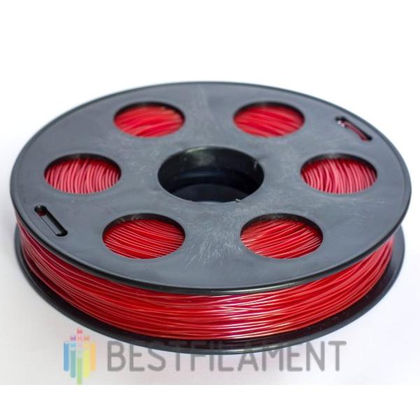 1,75мм, 0,5кг. Пластик для 3D печати. Красный